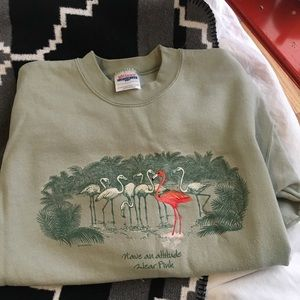 Vintage Flamingo Sweatshirt